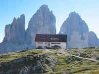 Un tipico rifugio di montagna