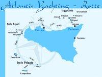 Le rotte di Atlantis Yachting