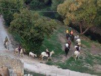 Passeggiate a cavallo nella natura di Palazzo Acreide