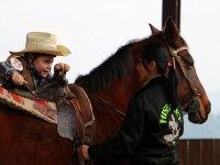 Montando a cavallo
