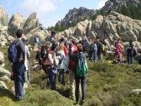Trekking to Monte Limbara