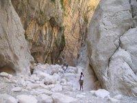 Trekking Between the Rocks