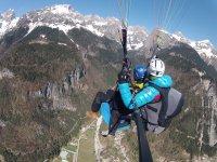 Il panorama mozzafiato delle Dolomiti