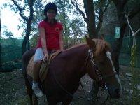Passeggiate a cavallo nel weekend