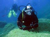 sul fondale marino