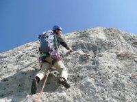 Scalare su roccia