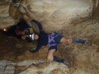 In grotta con guida
