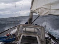 In open sea