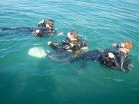 immersione in mare aperto