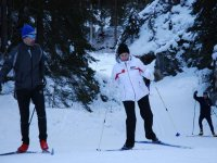 Courses and cross-country skiing excursions
