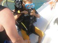 Immersioni per i più piccoli