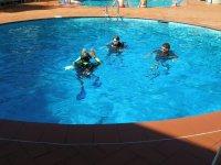 Lezioni di prova in piscina