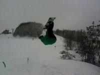 evoluzioni sullo snowboard