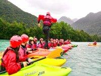 A lezione di Kayak