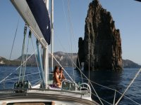 At sea with Sevenstar Charter