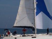 Sulla barca di Sea Team