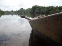 Amazzonia in canoa
