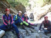 Escursioni di canyonig