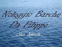 Noleggio barche da Filippo San Nicola Escursione in Barca