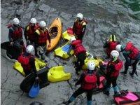 Preparazione al Rafting