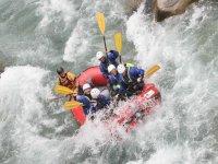 Rafting con Monrosa
