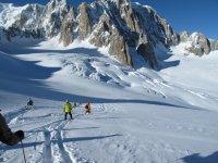 Freeride ski excursions