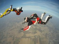 Volare in gruppo e piu divertente