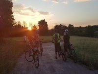 Tour in bicicletta anche al tramonto