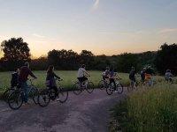 Per i parchi romani in bicicletta