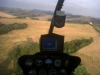 La vista del pilota