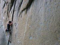 Climbing in Aosta