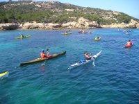 Canoe in Sardinia