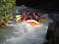 Rafting nel Lao