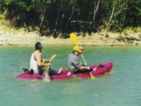 Escursionin canoa
