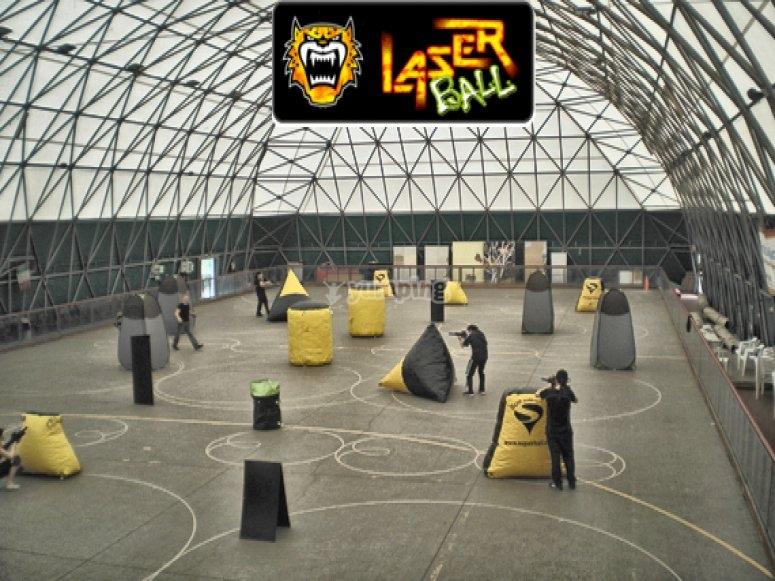 laser combat indoor