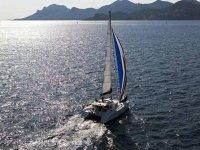 In catamaran