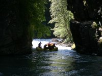Rafting nel canyon di Mostizzolo