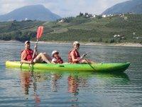Canoa anche per i più piccoli, insieme ai genitori