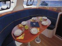 Pranzare a bordo