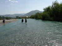 escursione nel fiume...
