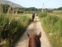 escursione in campagna...