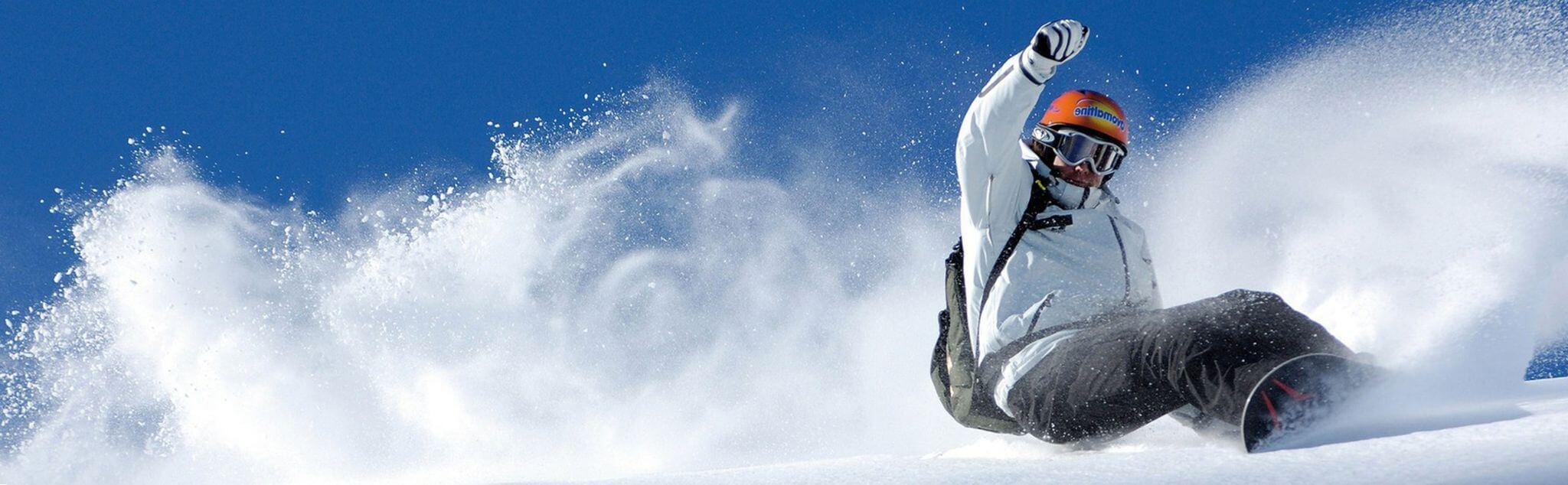 Snowboard a Bolzano