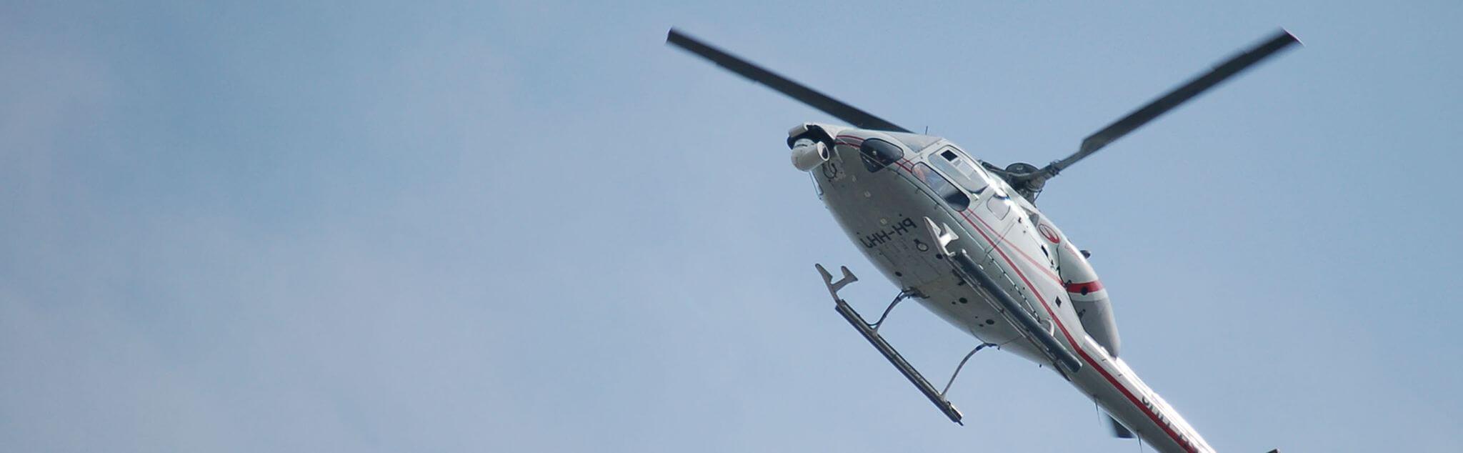 Volo Elicottero a Busano