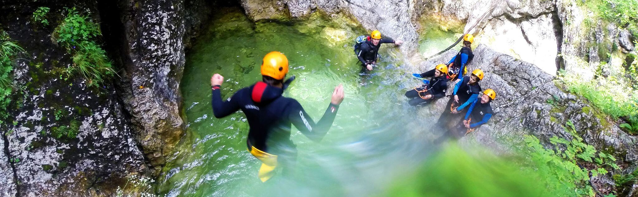 Canyoning a Messina