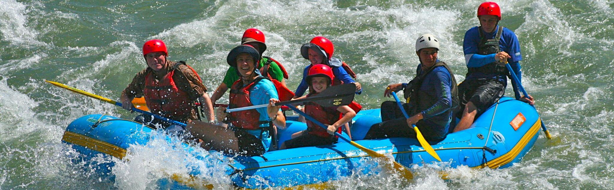Rafting a Salerno