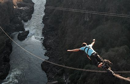 Bungee Jumping a Italia