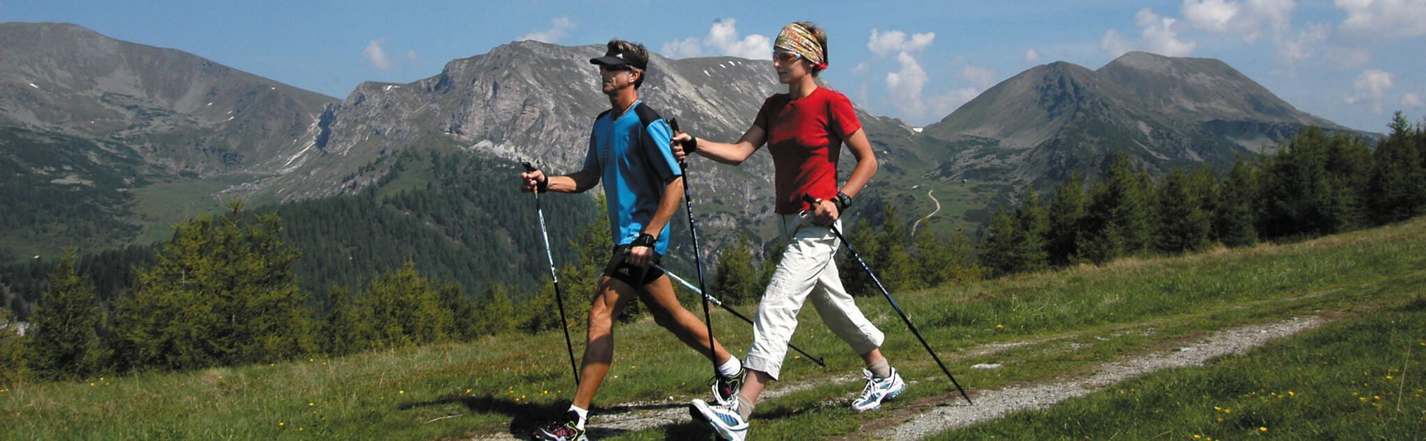 Nordic Walking a Aosta