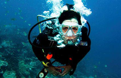 Diving a Italia