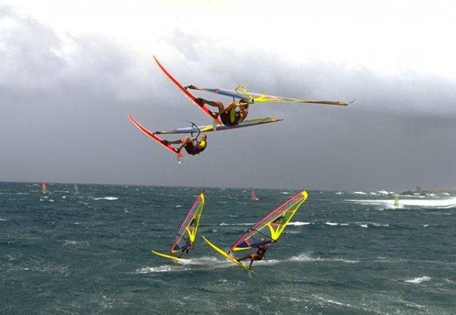 Salti di windsurfing