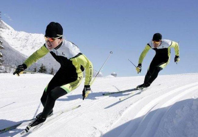 Gara di sci di fondo